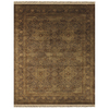Alegra 8-ft x 11-ft Rectangular Tan Floral Area Rug