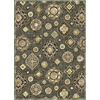 Soho Mah 5-ft 3-in x 7-ft 6-in Rectangular Brown Transitional Area Rug