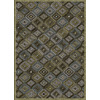 Soho Mah 7-ft 6-in x 10-ft 6-in Rectangular Brown Transitional Area Rug