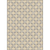 Soho Zam 5-ft 3-in x 7-ft 6-in Rectangular Beige Transitional Area Rug