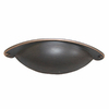 Style Selections 64mm Center-to-Center Aged Bronze Arched Cabinet Pull