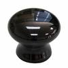 Style Selections Black Round Cabinet Knob