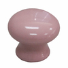 Style Selections 1-1/4-in Pink Round Cabinet Knob