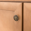 Style Selections Antique Brass Round Cabinet Knob