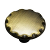 Style Selections 1-1/8-in Antique Brass Round Cabinet Knob