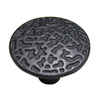 Style Selections 1-1/8-in Matte Black Round Cabinet Knob