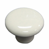 Style Selections Almond Round Cabinet Knob