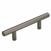 Gatehouse 3-in Center-to-Center Satin Nickel Bar Cabinet Pull