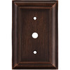 allen + roth 1-Gang Oil Rubbed Bronze Coax Metal Wall Plate
