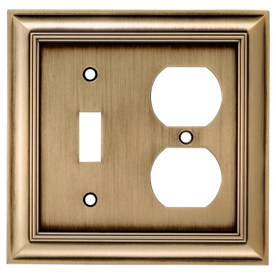 Allen roth wall plates modern lowes light switch for Bathroom 9x7