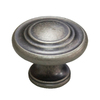 Style Selections Antique Nickel Round Cabinet Knob