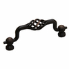 Gatehouse 96mm Center-to-Center Aged Bronze Arched Cabinet Pull