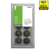 Style Selections 1Pack 1-3/8-in Aged Bronze Round Cabinet Knobs