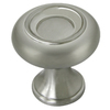 allen + roth 1-1/4-in Stain Nickel Round Cabinet Knob