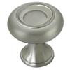 allen + roth Stain Nickel Round Cabinet Knob
