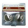Gatehouse 2-Pack Satin Nickel Round Cabinet Knobs