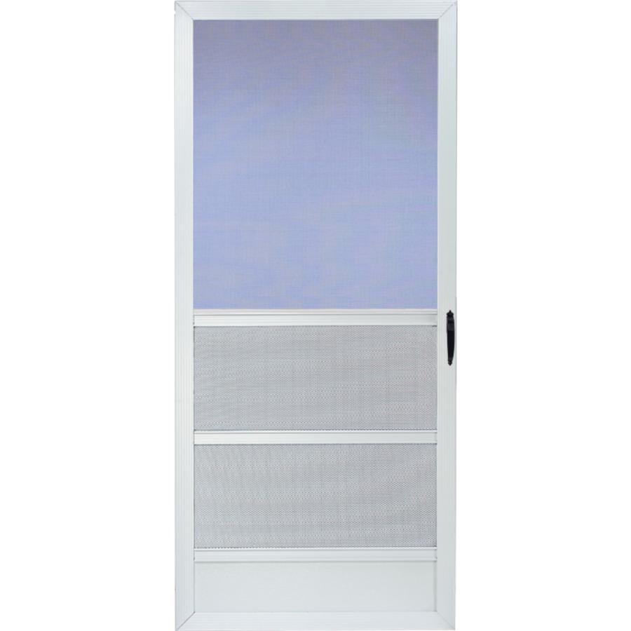 Aluminum screen aluminum screen frame lowes for Screen door frame