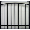 Gatehouse 36-in x 36-in Black Window Security Bar