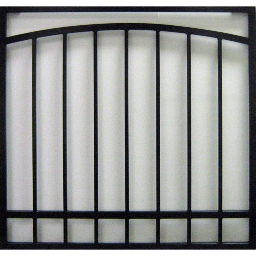 Shop gatehouse 36 in black arched window security bar at for Window bars design