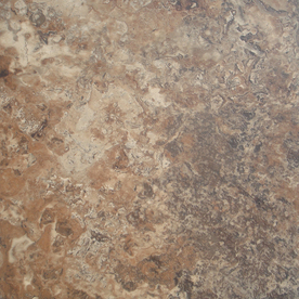 STAINMASTER 12-in x 12-in Brown Stone Finish Luxury Vinyl Tile