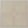 Novalis 12-in x 12-in Ivory Key Marble Finish Vinyl Tile