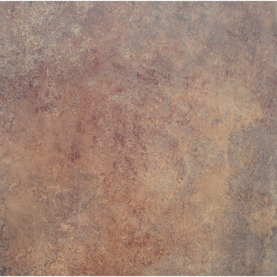 ... 18-in x 18-in Groutable Rust Peel-And-Stick Stone Luxury Vinly Tile at