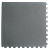 Blue Hawk 18-in x 18-in Dark Gray Slate Garage Flooring Tile