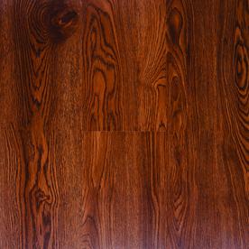 Style Selections 4-in x 36-in Gunstock Peel-and-Stick Oak Residential Vinyl Plank