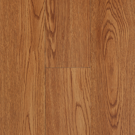 Style Selections 4-in x 36-in Golden Peel-and-Stick Oak Vinyl Plank
