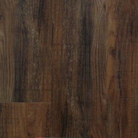 Style Selections 6-in x 48-in Antique Woodland Peel-And-Stick Oak Vinyl Plank