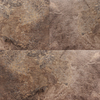 STAINMASTER 12-in x 24-in Groutable Harbor Slate/Brown Peel-and-Stick Slate Luxury Vinyl Tile