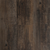 Style Selections 6-in x 36-in Antique Woodland Oak/Dark Brown Peel-and-Stick Rustic Vinyl Plank
