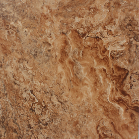 STAINMASTER 18-in x 18-in Brown Stone Finish Luxury Vinyl Tile