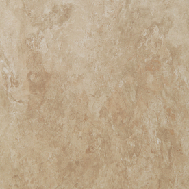 Style Selections 18-in x 18-in Almond Slate Finish Luxury Vinyl Tile