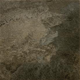 Novalis 18-in x 18-in Graphite Slate Pattern Commercial Vinyl Tile