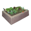 Dekorra 16-in H x 46-in W x 62-in D Sedona Sunset Garden Box