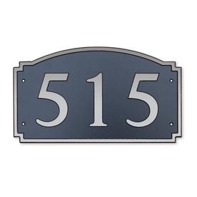 Dekorra 7-in x 12-in Address Plaque