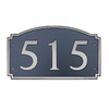 Dekorra 7-in x 12-in Address Plaque