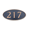 Dekorra 6-in x 12-in Address Plaque