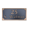 Dekorra 8-in x 16-in Address Plaque