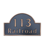 Dekorra 8-in x 12-in Address Plaque
