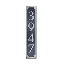 Dekorra 24-in x 6-in Address Plaque