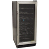 Vinotemp 32-Bottle Black Wine Chiller