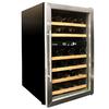 Vinotemp 34-Bottle Black Dual Zone Wine Chiller