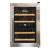 Vinotemp 12-Bottle Black Dual Zone Wine Chiller