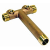 ProPlumber Brass Tank Tee