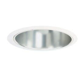 Juno Juno Recessed 6-in White Baffle Recessed Lighting Trim