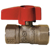 Dormont Rough Brass Quarter-Turn Straight Valve