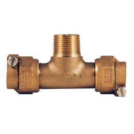 Legend Valve 3/4-in x 1-in Dia. Copper Tee Fitting