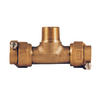 Legend Valve 4-Pack 1-in Brass Tees
